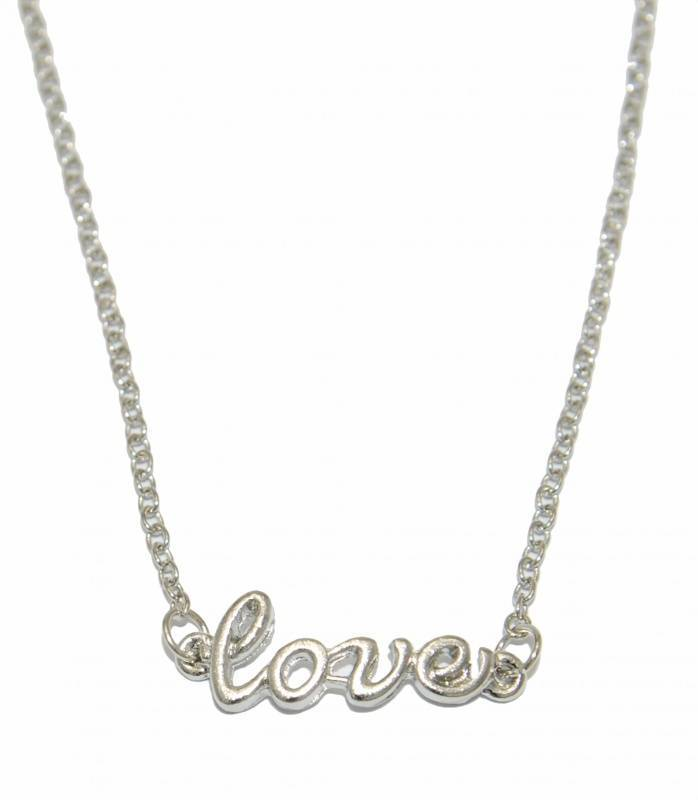 Fashion Mania Ketting Love Zilver