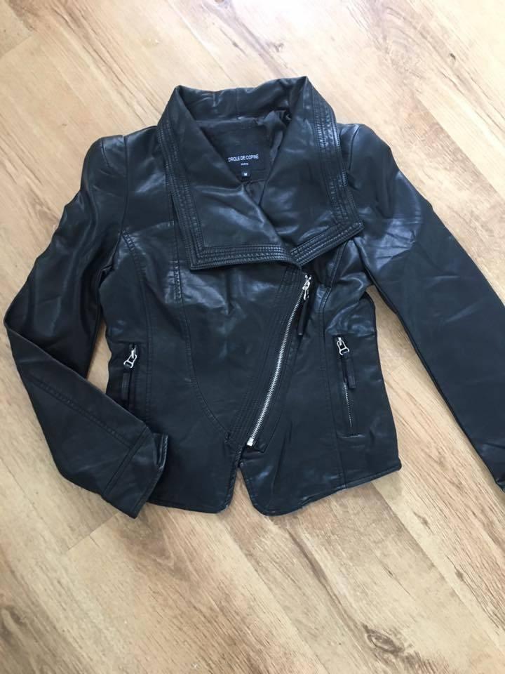 Leather look jack