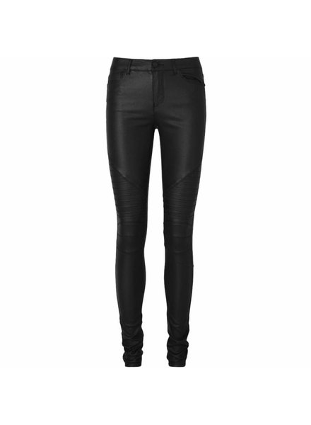 LA SISTERS Coated Biker Pants
