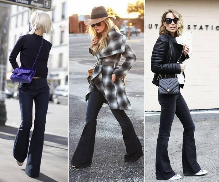 Flare Jeans Black