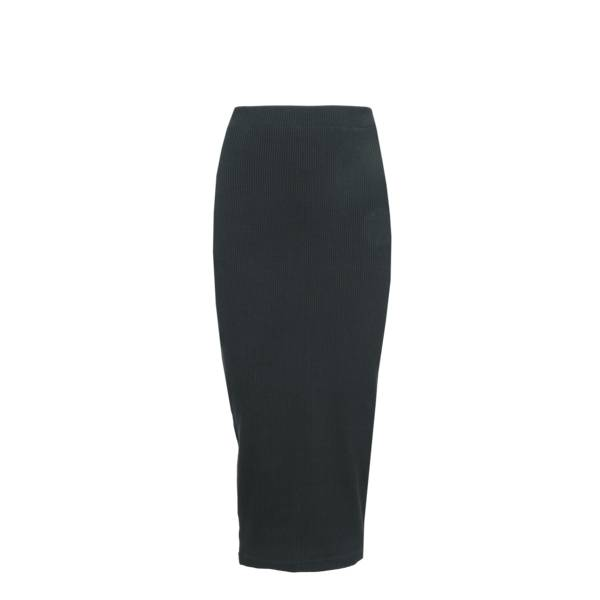 LA SISTERS Long Ribbed Tube Skirt LA  Sisters