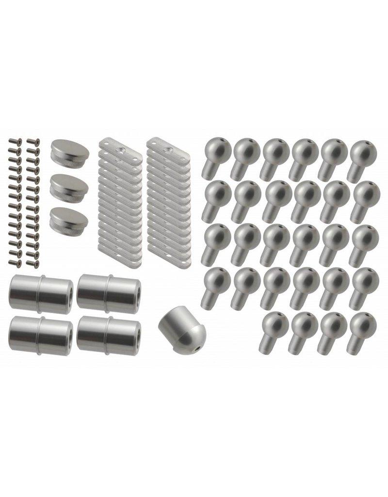 Verbindungsset Aluminium für ST 130 / 160 / 180