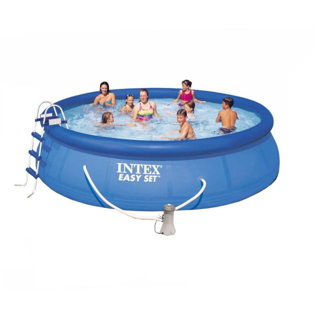 Intex easy set zwembad 549 x 122 cm for Intex zwembad verkooppunten