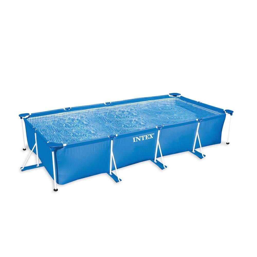 Rechthoekig opzetzwembad kopen online internetwinkel - Medidas para una piscina ...