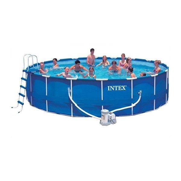 Intex frame zwembad 300 x 200 x 75 cm intex in de for Frame zwembad aanbieding