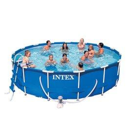 Intex Metal Frame zwembad 457 x 107 cm