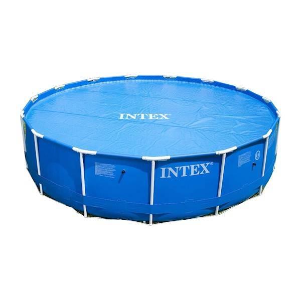 Intex solarzeil 457 cm