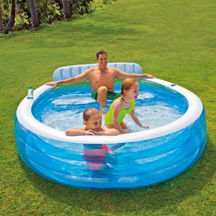 Intex Swim Center Family Lounge Pool Zwembadwebshop