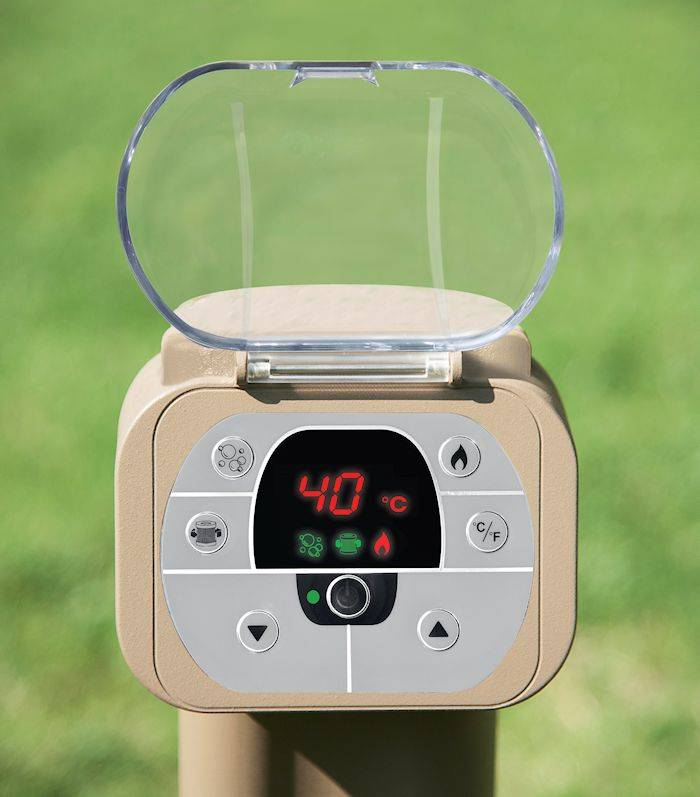 Intex Opblaasbare SPA Bubble Therapy rond