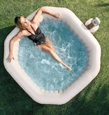 Intex Opblaasbare SPA Jet + Bubble vierkant