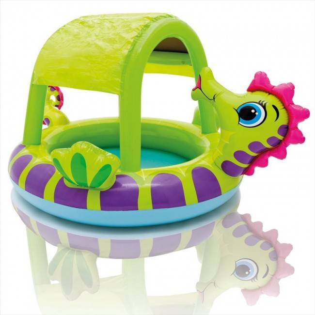 Intex baby zwembad zeepaard for Intex zwembad baby