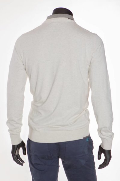 SCRATZ Golfwear SZ Original katoenen stretch V-hals golf trui