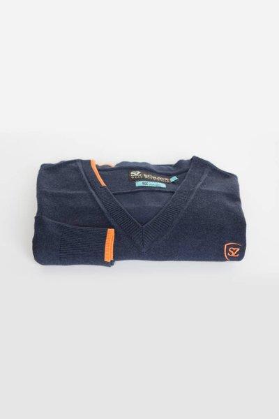 SCRATZ Golfwear Modieuze katoenen stretch golf trui