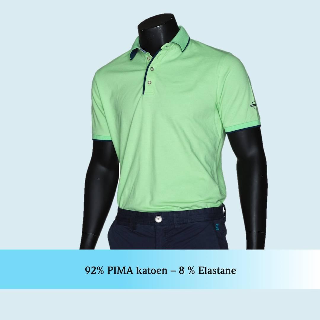 De meest perfecte golf shirts van Pima katoen