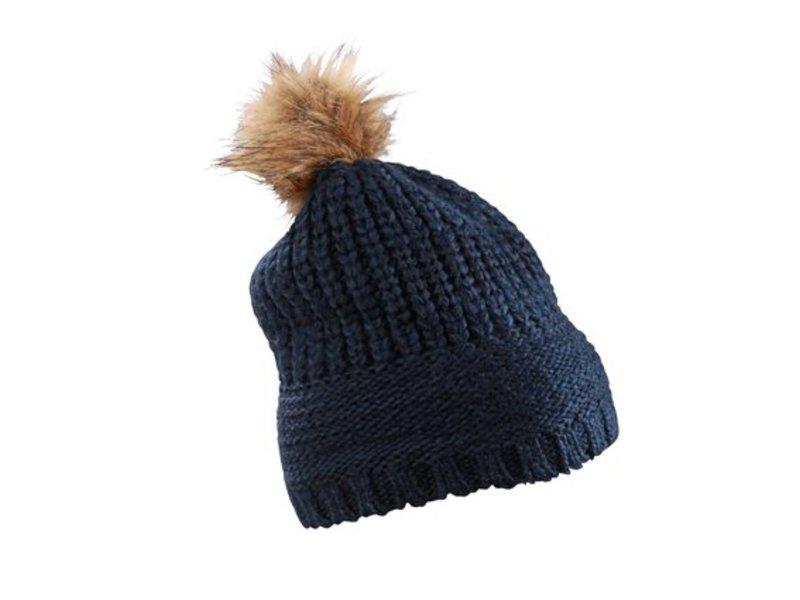 Damen Wintermütze mit Bommel