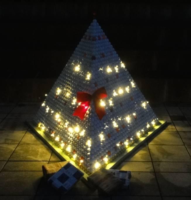 Ein Weihnachtsbaum der besonderen Art