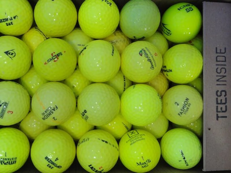 Diverse Mix Gelb Lakeballs