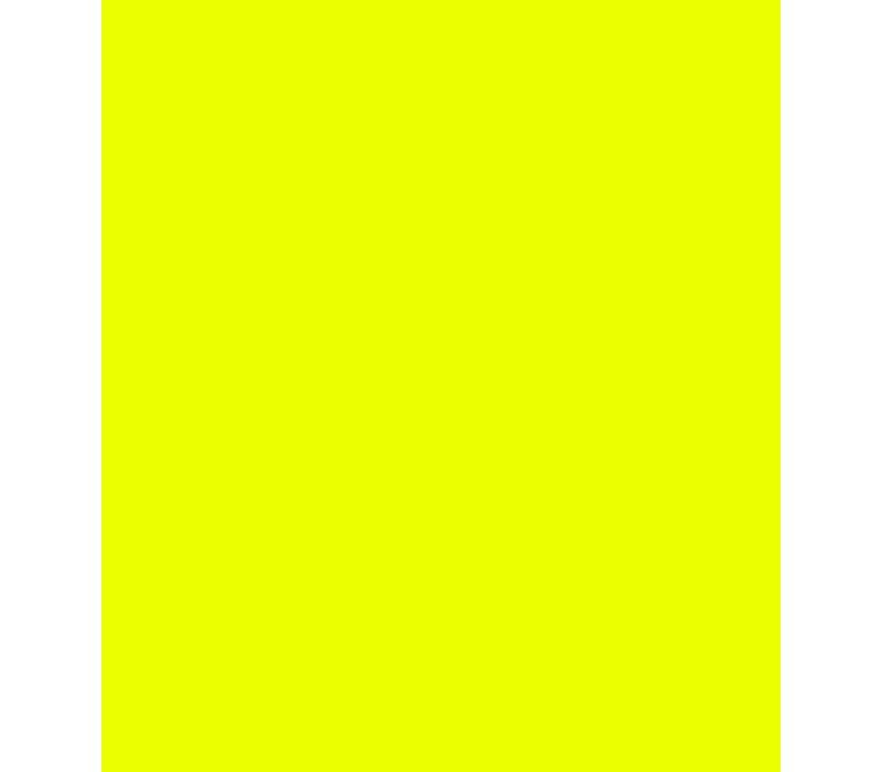 Flockfolie fluo geel