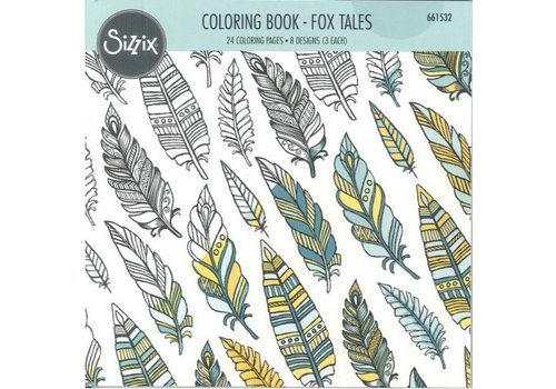 Sizzix Coloring book by Jen Long, Vossen Verhalen