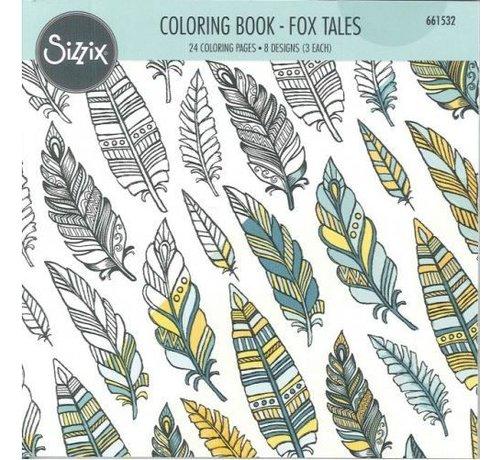 Sizzix Coloring book by Jen Long, Vossen Verhalen