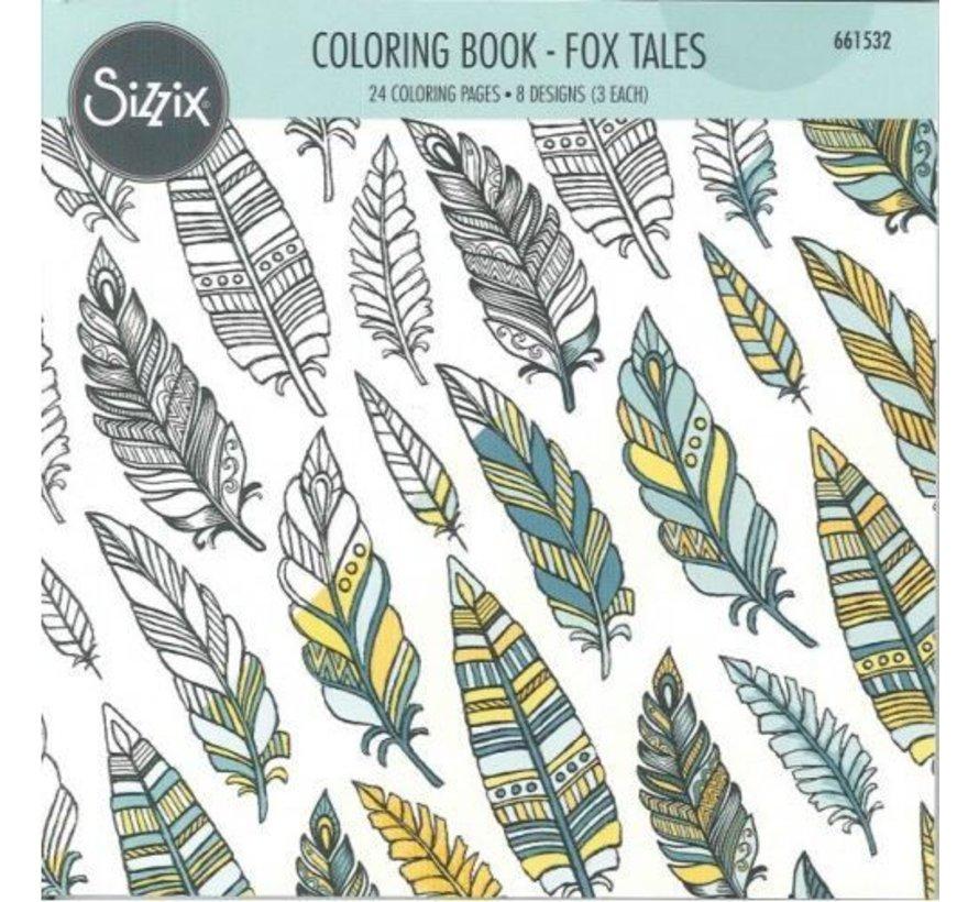 Coloring book by Jen Long, Vossen Verhalen