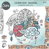 Sizzix Coloring book by Katelyn Lizardi, Imaginasia