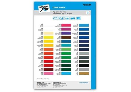 Kleurenkaart Vinyl glans