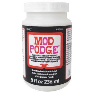 Plaid Mod Podge Chalkboard Topcoat