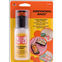 Mod Podge Dimensional magic clear