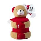 Kerstknuffel beer met fleecedeken - Copy
