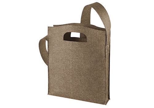 Luxe Vilt tas (brown)