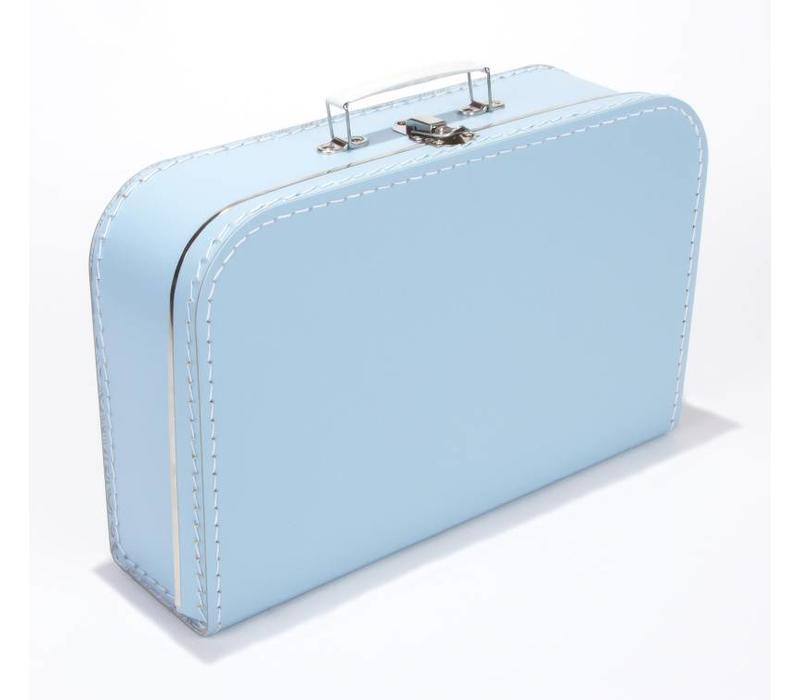 Koffer groot- Babyblauw
