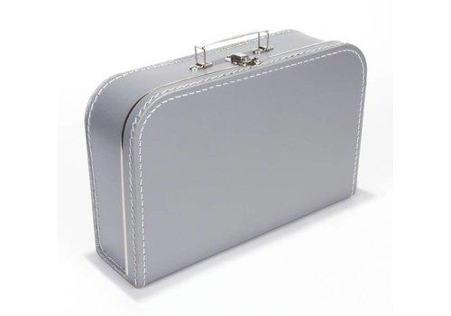 Koffer groot- zilver