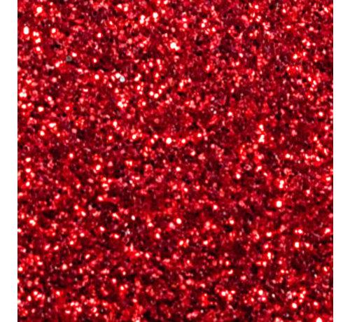 Siser Flexfolie Glitter red
