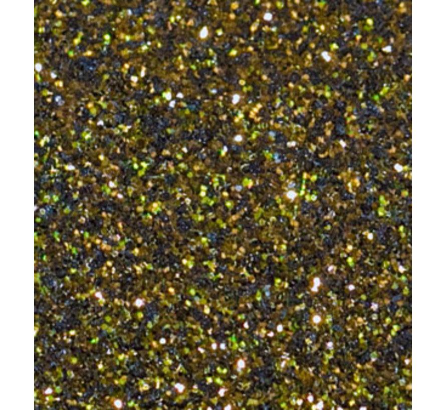 Flexfolie Glitter Black-Gold