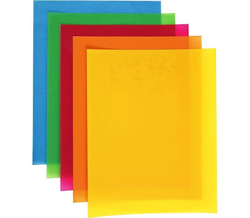 Krimpfolie gekleurd