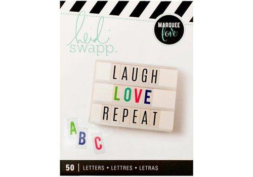 Heidi Swapp Letters- Multi Color on White
