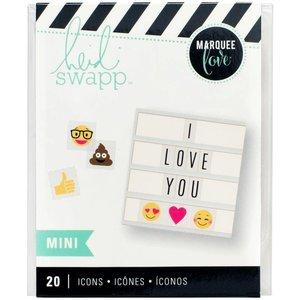 Heidi Swapp Mini Iconen - Emoji's