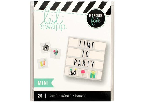 Heidi Swapp Mini Iconen - Party