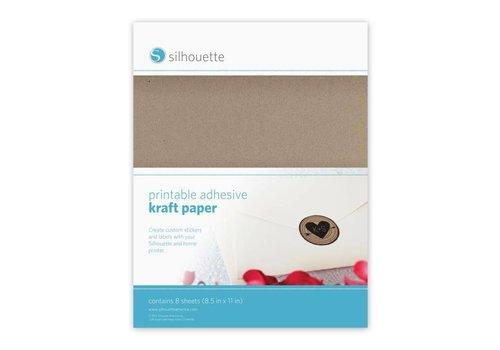 Silhouette Printable Kraft Paper