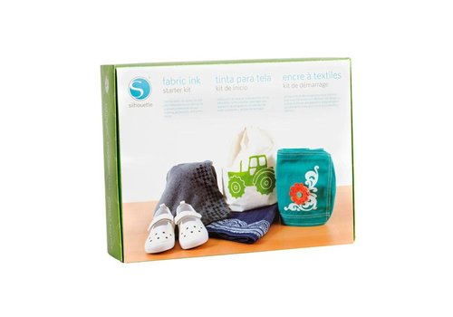 Silhouette Starter Kit Fabric Ink