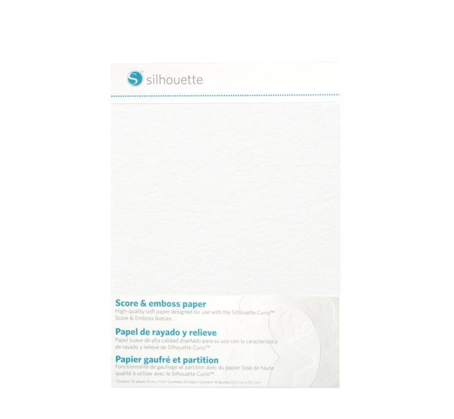 Score & Emboss Paper (12.7cm x 17.7cm)