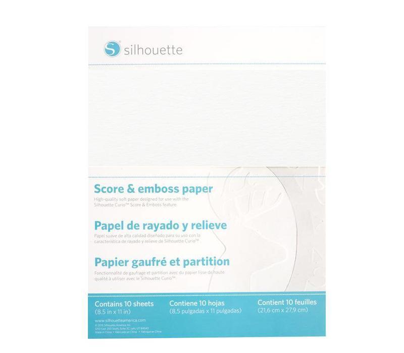 Score & Emboss Paper (30.4cm x 27.9cm)