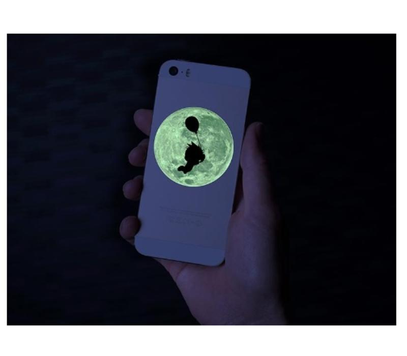 Printable Glow-in-the-Dark Sticker Paper (2 sheets: 21.5cm x 27.9cm)