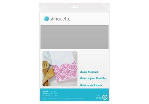 Silhouette Stencil Material Sheets – Non-Adhesive