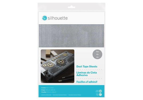 Silhouette Duct Tape Sheets – Grey