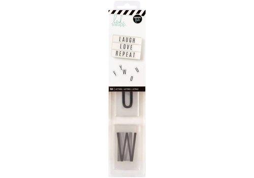Heidi Swapp Alfabet - Black on white