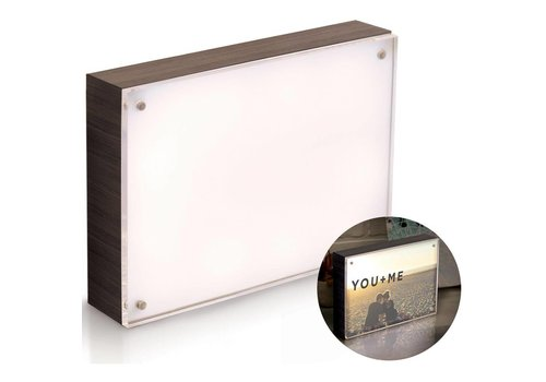 We R Memorykeepers Photolight kader Ebony (12 x 18 cm)