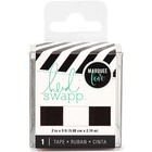 Heidi Swapp Tape Black&White Stripe