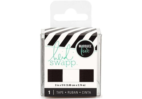 Heidi Swapp Tape Black&White Stripe